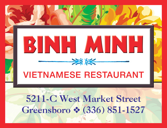 Binh Minh - Locally owned Vietnamese restaurant in Greensboro